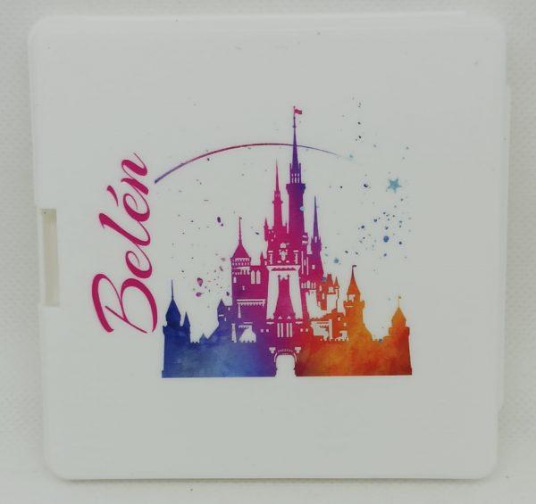 Castillo Disney multicolor