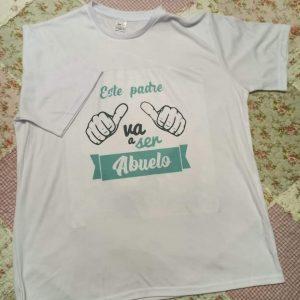 Camiseta este padre va a ser abuelo